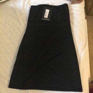 Black Mini Dress w/ Slit